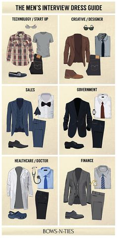bows-n-ties: Interview Dress Codes for the Top 6 Industries...