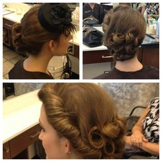 Old Hollywood inspiration is in this Fall for wedding hair!!