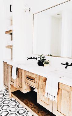 Dream Home Interior New DIY Bathroom Makeover Ideas Home Interior New DIY Bathroom Makeover Ideas Diy Bathroom Decor, Bathroom Styling, Bathroom Furniture, Bathroom Interior, Bathroom Cabinets, Bathroom Ideas, Small Bathroom, Bathroom Pictures, Wood Bathroom