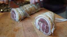 Charcuterie recipe for how to make Pancetta from scratch.