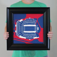 Vaught–Hemingway Stadium located at the University of Mississippi in Oxford…