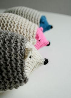KnittedHedgehogs