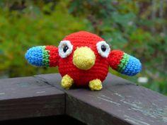 Ravelry: Amigurumi Parrot pattern by Lion Brand Yarn