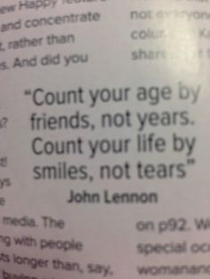 John Lennon, Your Smile, Sayings, Happy, Life, Inspiration, Biblical Inspiration, Lyrics, Ser Feliz