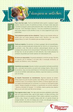 7 dicas para se sentir melhor