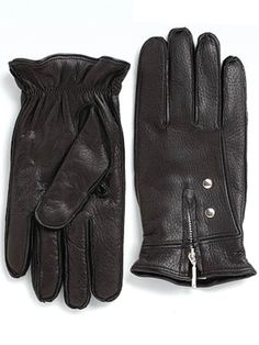 GOLDFINGERS - The winter-savvy spy will rejoice over these deerskin leather, cashmere-lined gloves, which will keep hands toasty during chilly winter months. www.saksfifthavenue.com