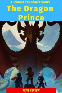 From the head writer of Avatar: The Last Airbender, Netflix brings us The Dragon Prince. Here are 5 reasons why YOU should watch the show. Netflix Original Anime, Netflix Anime, Western Anime, Anime Reviews, Netflix Originals, Anime Shows, The Last Airbender, Geek Culture, New Shows