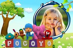 Nuevo fotomontaje infantil de Pocoyó!, el diseño contempla al tierno personaje y sus inseparables amigos, Pato, Elly, Lula, Pajaroto, y Pulpo, y estos dibujospersonalizarán tu fotografía favorita.…