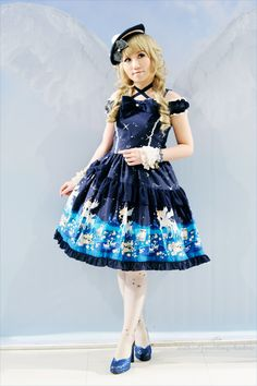 "Lolita Fashion... Metamorphose Temps de Fille ""Twinkle Journey"" jsk."