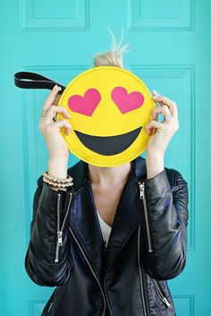 Bring your favorite emojis everywhere you go with this chic DIY