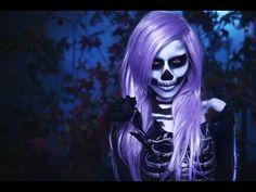 Skeleton Makeup : Watchers of the Night - http://www.thehowto.info/skeleton-makeup-watchers-of-the-night/