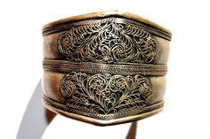 Vintage silver bracelet by Limbhad on Etsy https://www.etsy.com/listing/184158544/vintage-silver-bracelet
