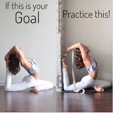 Image result for if your goal is this practice this yoga