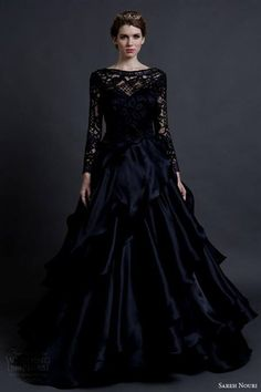 black wedding dresses with sleeves 2016 » MyDresses Reviews 2017