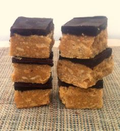 Paleo No Bake SunButter Bars- A paleo friendly no bake snack bar which is vegan, gluten free, grain free and allergy friendly to boot!
