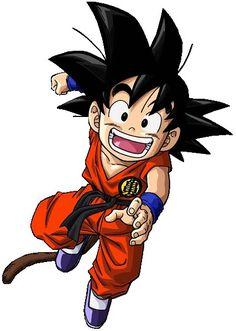 """""""Goku de niño"""" #1 Dragon Ball http://amzn.to/2sC3QU4"""