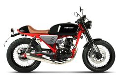 Hanway Cafe Racer Black Red