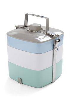 Tasty Trio Tiffin Box in Light Lunch   Mod Retro Vintage Kitchen   ModCloth.com - StyleSays