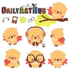 Cute Yellow Owl - Available for FREE today only, Feb 10