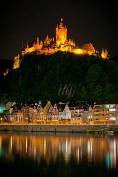 Burg Cochem, Cochem, Rhineland-Palatinate, Germany, von N+C Photo.
