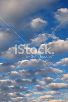 Little Fluffy Clouds Royalty Free Stock Photo