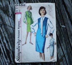 Simplicity 5482 1960s 60s Jumper Blouse by EleanorMeriwether