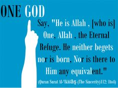 "Say, ""He is Allah , [who is] One, Allah , the Eternal Refuge. He neither begets nor is born, Nor is there to Him any equivalent."" (Quran Surat Al-'Ikhlāş (The Sincerity)112: 1to4) (social network id: rammohanreddy777@gmail.com), tags: muttaqeen islamic center, telangana, andhra pradesh, hyderabad, india., quran, islam, telugu quran(quran 112 : 1to4)"