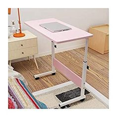 UK Notebook Computer Desk Adjustable Stand Lap Laptop Table Trolley Sofa Bed