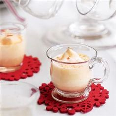 Eggnog recipe. A traditional festive drink, eggnog is easy to make yourself and far superior to the bought variety.