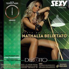 Via Revista Sexy  Amanhã tem #festaSexy no @bardezoito para lançar a revista da maravilhosa Nathalia Belletato! Quem vai chegar?