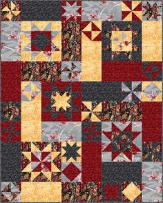 Free+Quilt+Patterns+for+Beginners | peasy quilt pattern qn 003 previous in patterns paper next in patterns ...