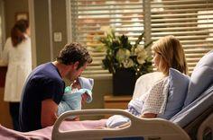 """Derek Shepherd, Bailey Grey Shepherd, and Meredith Grey in Grey's Anatomy Season 10, Episode 2: """"I Want You With Me"""""""