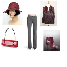 Very pretty hat from Etsy in this fun fall outfit for the Hats Entertainment fashion mission