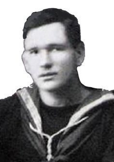 Naval officer Alfred Carslake, who received a mention in despatches.