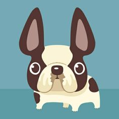 French-Bulldog dog puppy pet animal Art Print