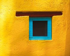 mustard yellow + turquoise