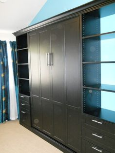 Murphy bed   You Will Blow your mind.......  The Best Idea EVER... Look at this site: http://www.zoom-room.com/