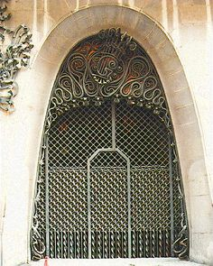 Palau Güell. Antoni Gaudi. Barcelona, Spain. 1886-8