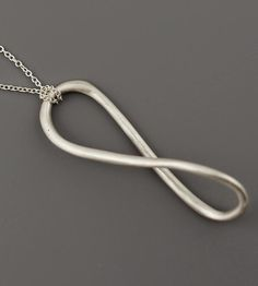 Silhouette Sterling Silver Necklace