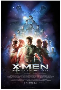 X-Men: Days of Future Past Poster (2014) by CAMW1N