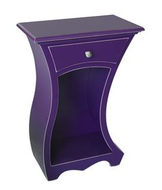 """Spark Table"" created by artist Vincent Leman. Every living space has a place for this finely crafted piece with its eye-catching sculptural grace and everyday function. Radiant Orchid"