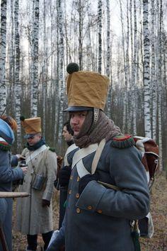 French chasseur reenactors