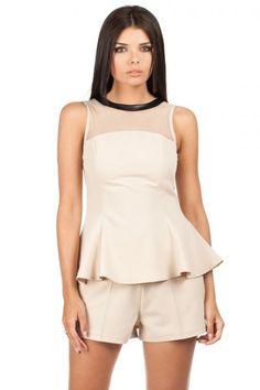 Spandex 5 % Polyester 65 % Viscosa 30 % Size Total lenght Chest L cm 92 cm M cm 88 cm S cm 84 cm XL cm 96 cm Blouse Models, Peplum Dress, Rompers, Coat, Dresses, Fashion, Vestidos, Moda, Sewing Coat