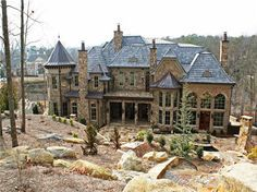 My castle.. this is overkill if I have enough money to build this I better have a big enough heart to by my family and friends houses first.