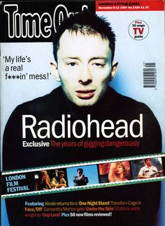 Radiohead - Magazine Covers - 1997 - Time Out