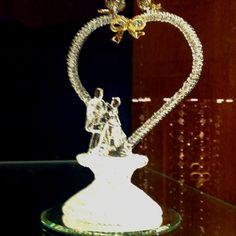 Cinderella & Prince Charming Wedding Cake Topper <3