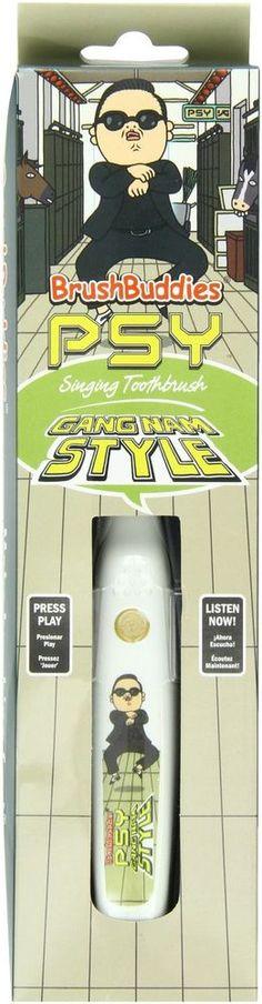 Brush Buddies 8-52060-00362-6 PSY Gangnam Style Singing Toothbrush