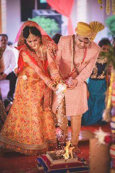 "Photo from album ""Wedding Day & Reception Of Raj & Karishma"" posted by photographer Showy Studio Planner Organisation, Lehenga Wedding, Wedding Rituals, Lehenga Saree, Photographic Studio, Wedding Preparation, Mehendi, Real Weddings, Wedding Day"