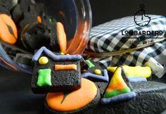 galletas decoradas lombardero: halloween mini color