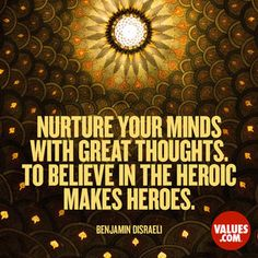 Positivity attracts positivity. #believe www.values.com